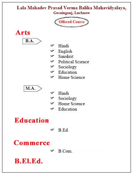 Degree Colleges in Lucknow